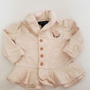 Ralph Lauren Baby Peplum Jacket